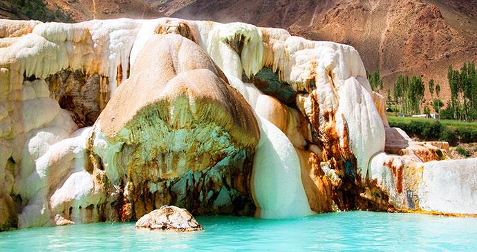 Garm Chasma, Tajikistan by Tourism Development Centre / www.tdc.tj