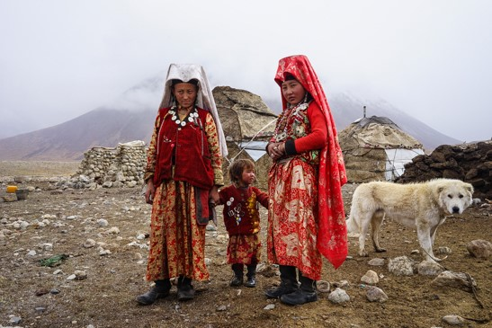 Kyrgyz woman Wakhan Corridor © Jonny Duncan