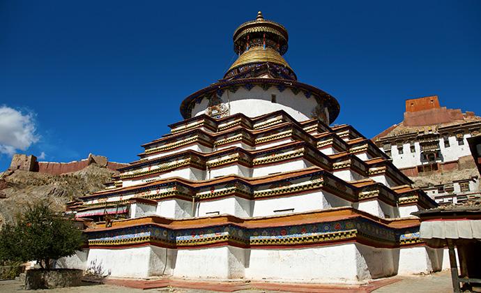 Kumbum Monastery Tibet China by Kenneth-Dedeu, Shutterstock