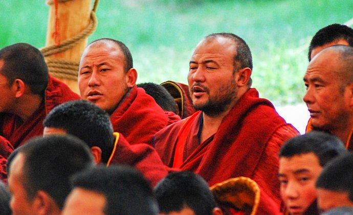 Labrang Monastery Tibet China by Shizhao CC-BY-SA