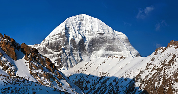 Mount Kailash Tibet China by Zzvet, Shutterstock