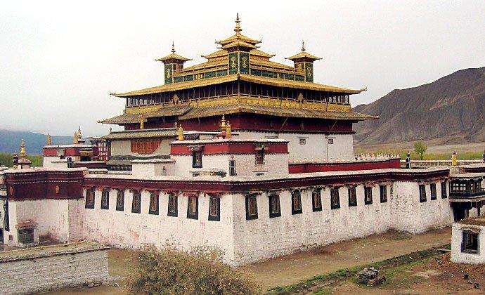 Samye Temple Tibet China by Tsui CC-BY-SA