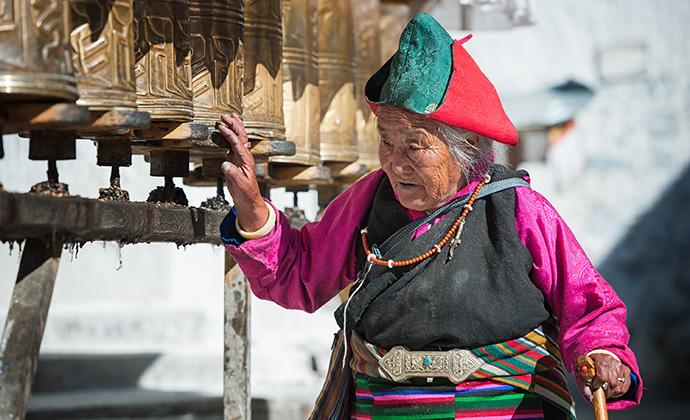 Potala Palace Lhasa Tibet China by Hung Chung Chih, Shutterstock