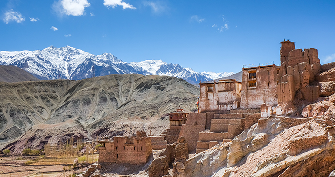 Basgo Gompa Ladakh India by Niraelnor Shutterstock