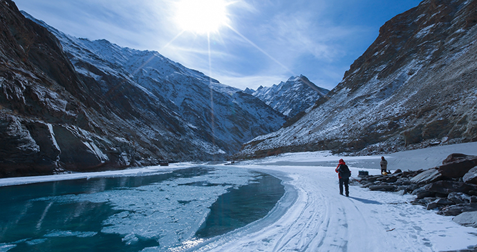 Chadar Winter Trek Ladakh India by Siriwatthana Chankawee, Shutterstock