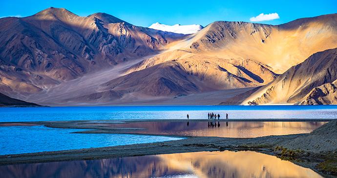 Pangong Tso Ladakh India by Chris Piason Shutterstock