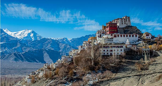 Thiksey Monastery Ladakh India by suchitra poungkoso, Shutterstock