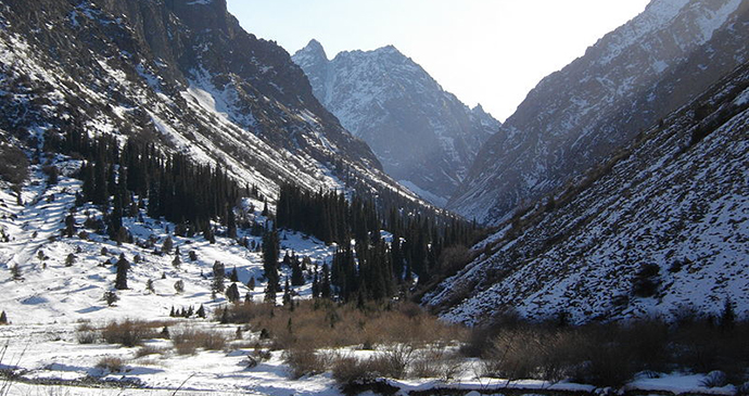 Ala-Archa, Kyrgyzstan by Mass Ave 975, Wikimedia Commons