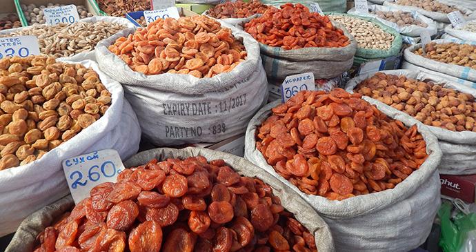 Osh Bazaar, Bishkek, Kyrgyzstan by Carys Homer