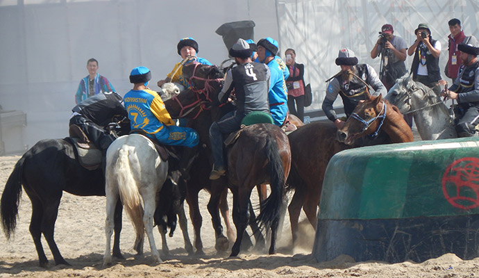 kok boru, World Nomad Games, Kyrgyzstan by Carys Homer