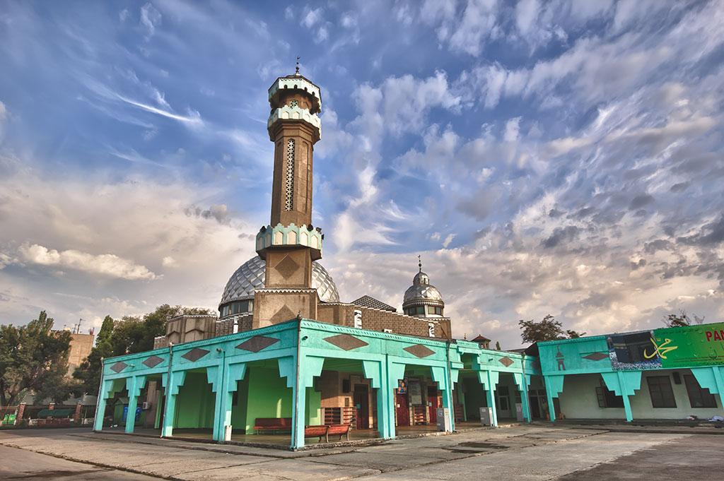 Central Mosque, Bishkek, Kyrgyzstan by Nikita Maykov, Shutterstock