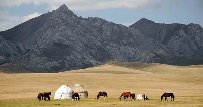 A shepherd's yurt, Kyrgyzstan by Pavel Svoboda, Shutterstock