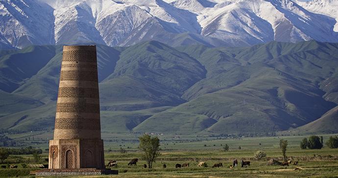 Burana Tower. Kyrgyzstan by Labusova Olga, Shutterstock