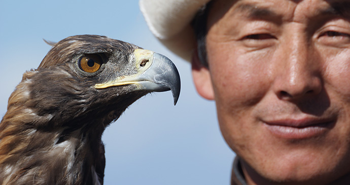 Eagle hunting, Kyrgyzstan by Maximum Exposure PR, Shutterstock