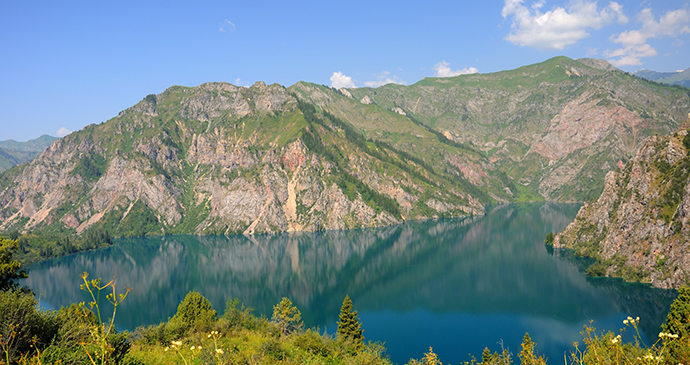 Lake Sary-Chelek, Kyrgyzstan by Djusha, Shutterstock