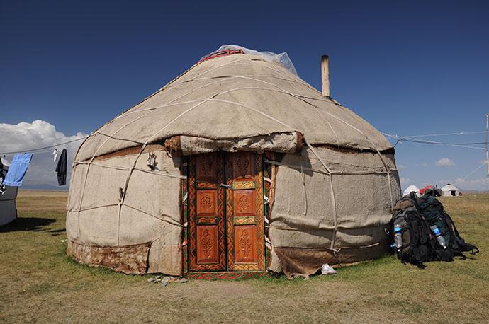 Yurt, Kyrgyzstan by Pavel Svoboda, Shutterstock