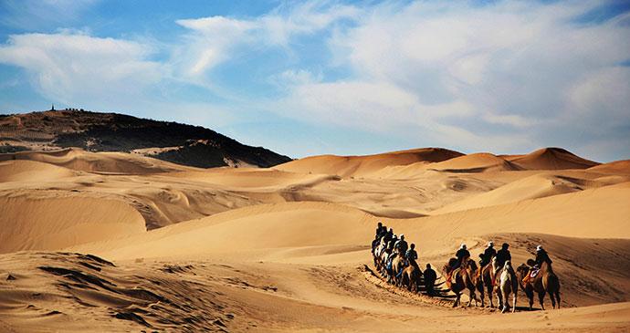 Gobi Desert Mongolia by Kanuman, Shutterstock