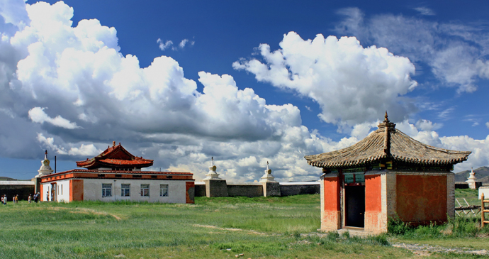 Erdene Zuu Monastery, Mongolia by Hons084, Wikipedia