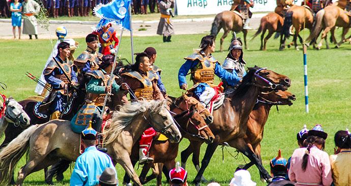 Naadam Mongolia by Loca4motion Dreamstime