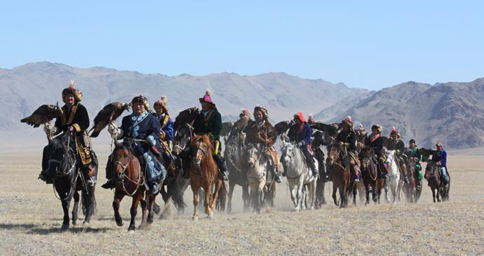 Horsemen riders, Mongolia by TTstudio