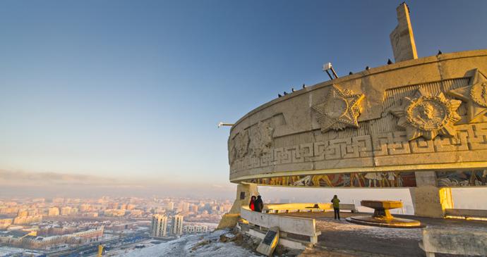 Zaisan Memorial, Ulaanbaatar, Mongolia by cesc_assawin