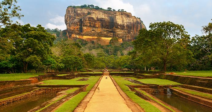 Sigiriya Rock Fort Sri Lanka © TravelLocal