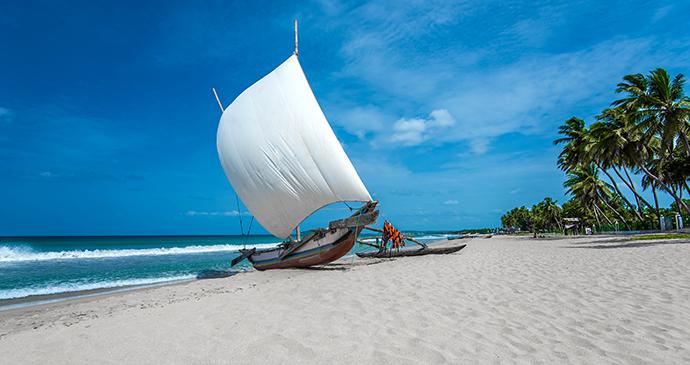 Beach Sri Lanka © TravelLocal