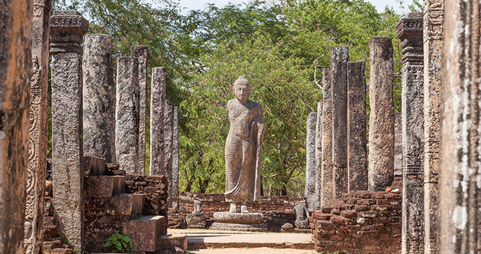 Polonnaruwa Sri Lanka by escape, Shutterstock