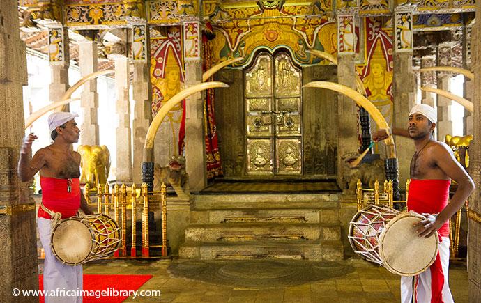 Temple of the Tooth Kandy Sri Lanka Ariadne Van Zandbergen, Africa Image Library