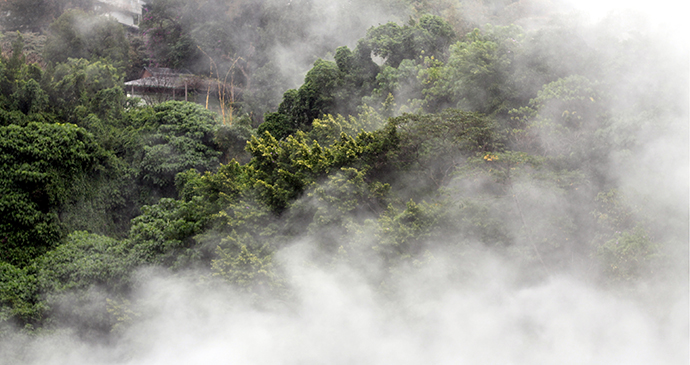 Beitou hot springs Taiwan by Lishuilynn Wikimedia Commons