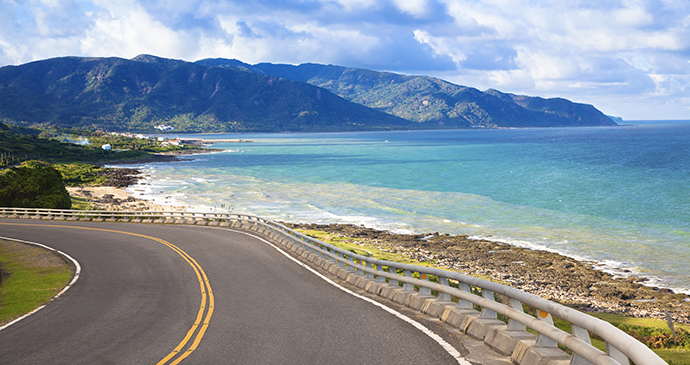 Coast road Kenting National Park Taiwan by Tom Wang Shutterstock