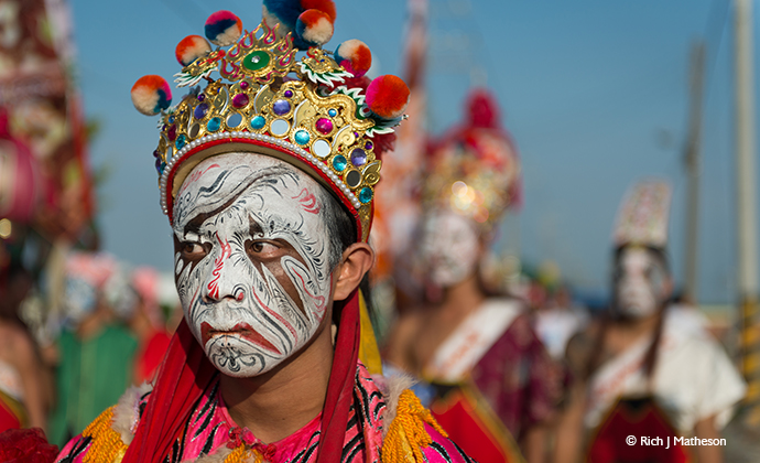 Zhentou Taiwan temple indigenous festival by Rich Matheson