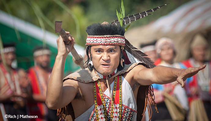 Indigenous festival aborigines Taiwan Rich Matheson
