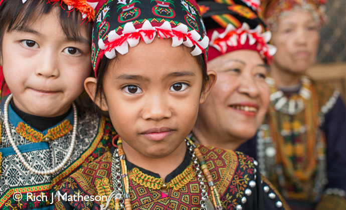 Indigenous children Taiwan by Rich J Matheson