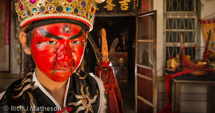 Indigenous person Taiwan by Rich J Matheson