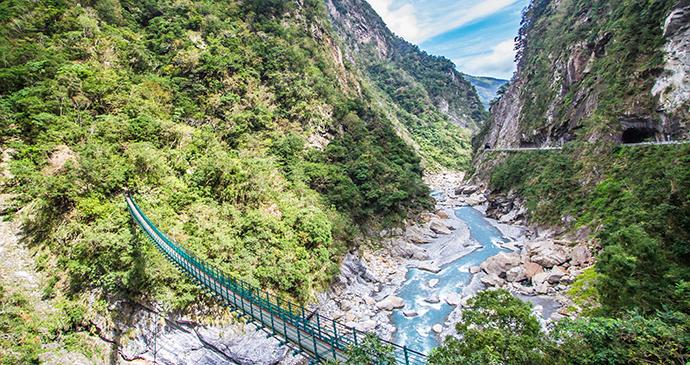 Taroko Gorge Taiwan by ThePonAek Shutterstock