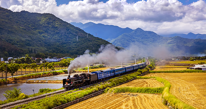 Train Taiwan by Taiwan Tourism Bureau