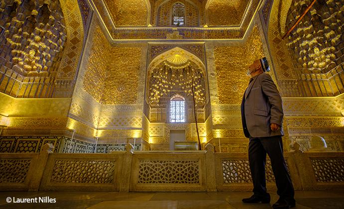 Gur-i Amir mausoleum Samarkand Uzbekistan Laurent Nilles