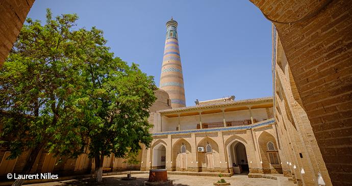 Islam Khoja Madrasa and Minaret Laurent Nilles