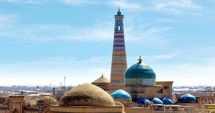 Khiva Uzbekistan by renoe, Shutterstock