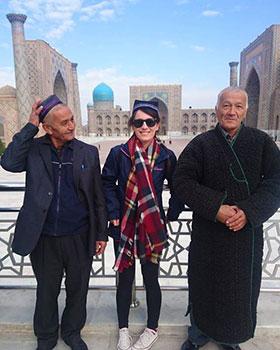 Registan Samarkand Uzbekistan by Laura Pidgley
