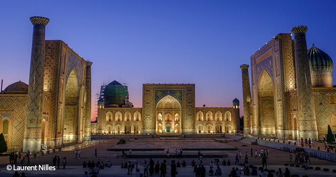 Registan Uzbekistan Laurent Nilles