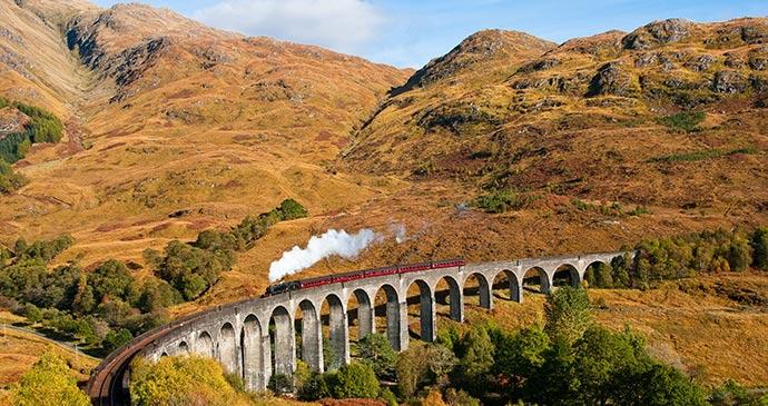 West Highland Line Scotland UK by Andrew Shapland