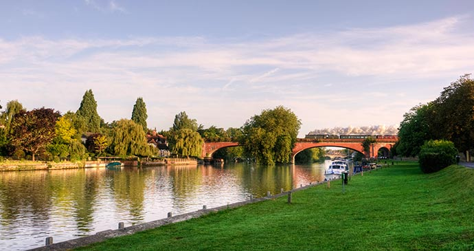 Maidenhead Bridge UK by Andrew Shapland