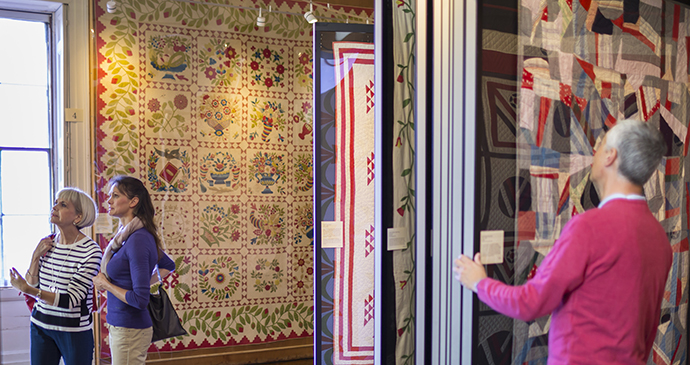 QUilts, American Museum in Britain, Bath, England by Bath Museums
