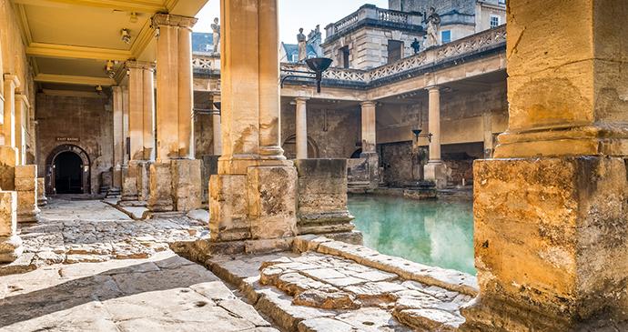 Roman Baths, Bath, England by The Roman Baths