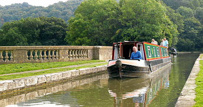 Kennet and Avon Canal, near Bath, England by visitbath.co.uk, Bath Tourism Plus, Colin Hawkins