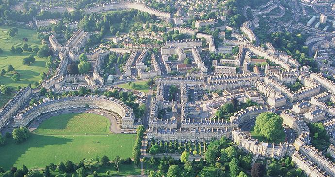 Royal Crescent, Circus, Bath, England by  visitbath.co.uk, Bath Tourism Plus