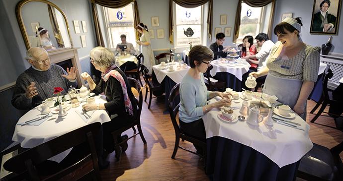 Tearoom, Jane Austen Centre, Bath, England by Jane Austen Centre