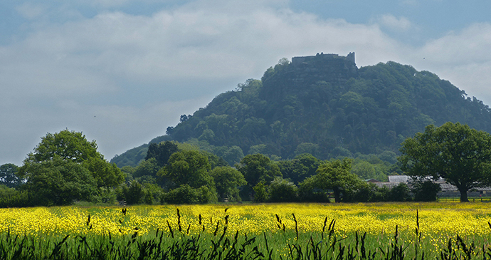 Beeston Castle, Cheshire, North West England by Andrew, Flickr